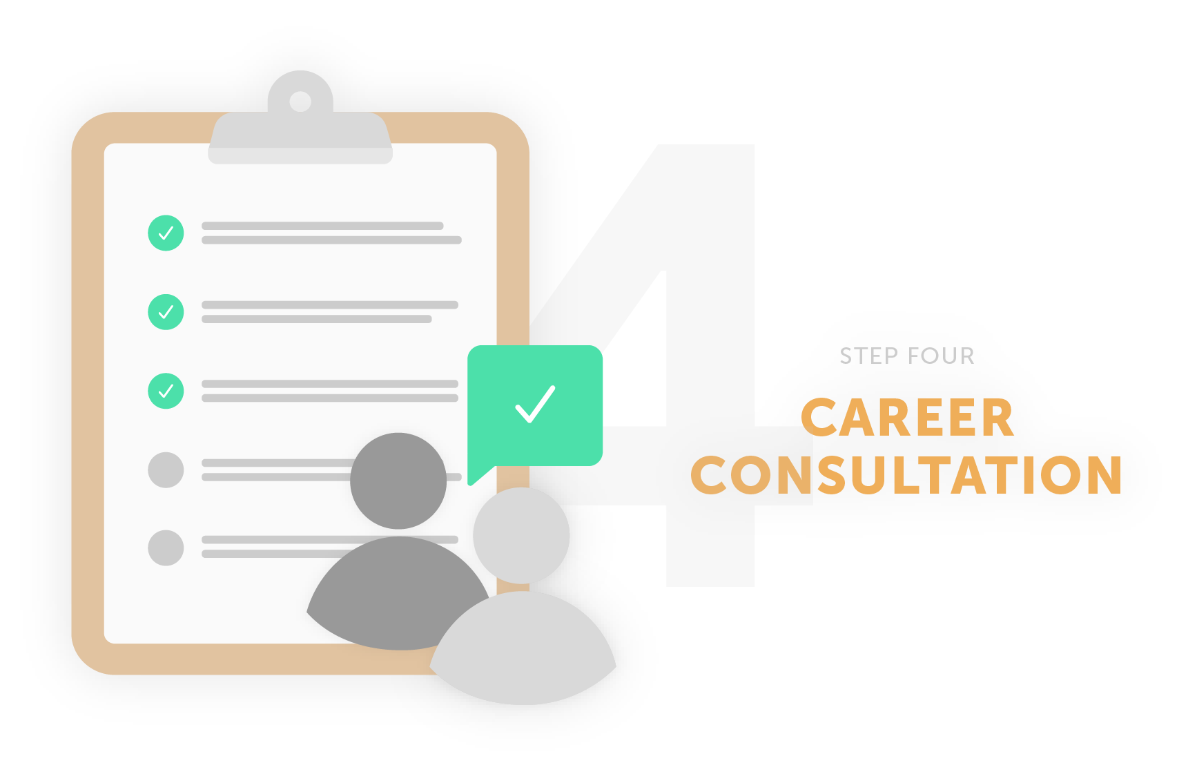 step four career consultation